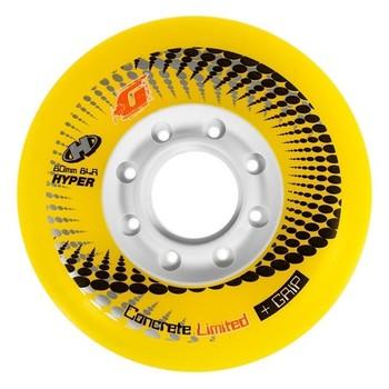 Колеса Hyper Concrete +G Yellow 80/76мм 84A