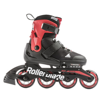 Детские ролики Rollerblade Microblade black-red 2021