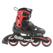 Детские ролики Rollerblade Microblade black-red 2021