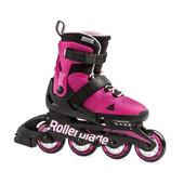 Детские роликовые коньки Rollerblade Microblade G 2020 pink-bubblegum