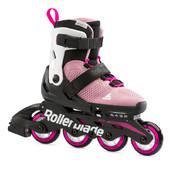 Детские роликовые коньки Rollerblade MICROBLADE G pink-white 2021